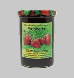530g Erdbeer Fruchtaufstrich