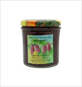 380g Himbeer Fruchtaufstrich