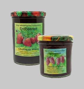 380g Himbeer + 530g Erdbeer Fruchtaufstrich