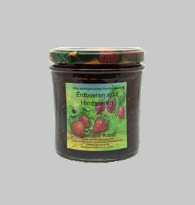 380g Erd-/ Himbeer 2-Fruchtaufstrich